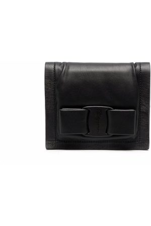 Salvatore Ferragamo Women Wallets - Bow-detail leather wallet