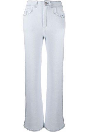 Barrie Women Leggings - Flared knit trousers