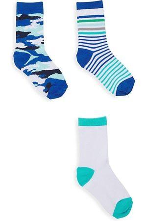 Isaac Mizrahi x Crayola Socks - Kid's 3-Pack Crew Socks