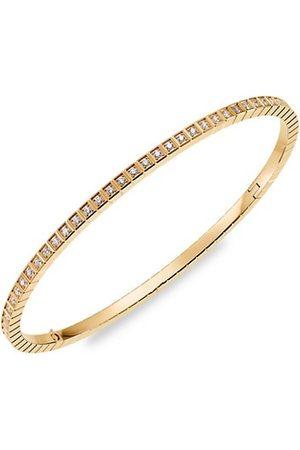Chopard 18K & Diamond Ice Cube Bangle Bracelet