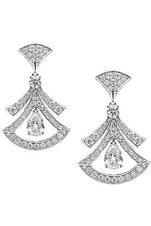 Bvlgari Earrings - Divas' Dream 18K & Diamond Drop Earrings