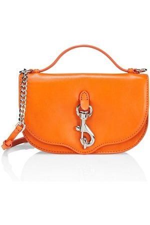 Rebecca Minkoff Megan Half Moon Leather Crossbody Bag