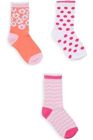 Isaac Mizrahi x Crayola Little Girl's & Girl's 3-Pack Socks
