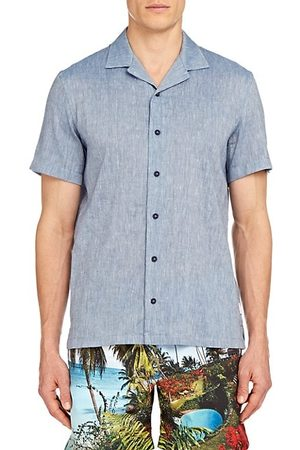 Orlebar Brown Hibbert Linen-Blend Shirt