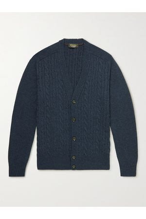 Loro Piana Baby Cardigans - Cable-Knit Baby Cashmere Cardigan