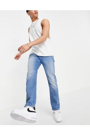 G-Star 3301 straight tapered jeans in mid wash