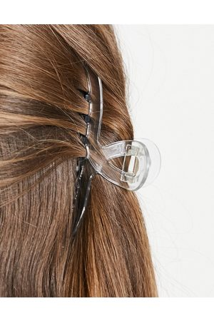 ASOS Large hair clip claw in clear plastic