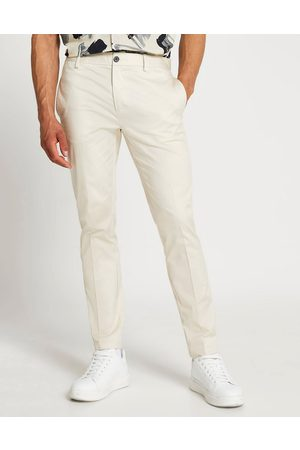 River Island Skinny chinos in stone
