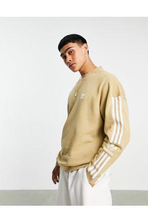 adidas Originals Adicolor lock up sweatshirt in -Neutral