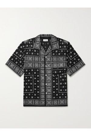 THE REAL MCCOY'S Bandana-Print Cotton Shirt