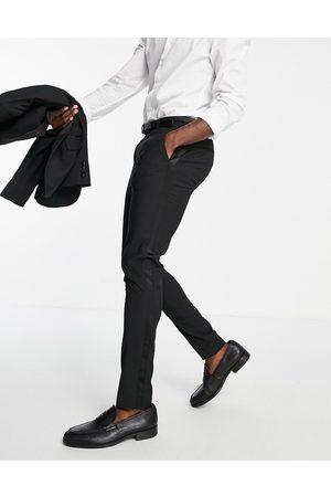 ASOS DESIGN Skinny tuxedo in suit trousers
