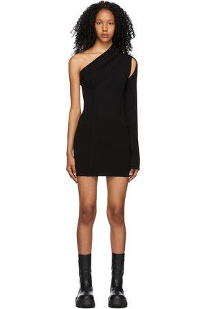 Rick Owens Stretch Knit Athena Mini Dress