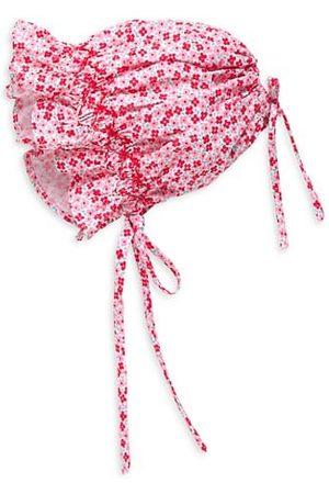 Isabel Garreton Baby Girl's Spring Floral Bonnet