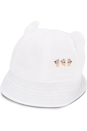 Familiar Embroidered bears cap