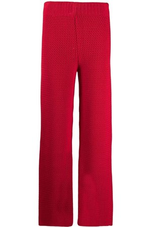 AMI AMALIA Knitted straight trousers