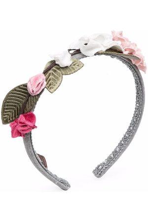 MONNALISA Floral-embellished hairband