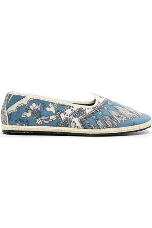 Emilio Pucci Women Slippers - Rugiada-print slippers
