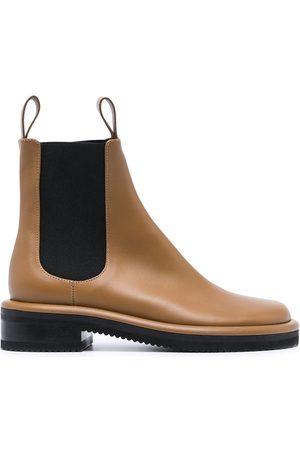 Proenza Schouler Pipe low-heel ankle boots