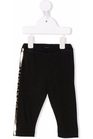 Balmain Side logo-print trousers