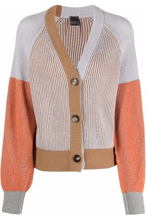 LORENA ANTONIAZZI Ribbed slouch-fit knit cardigan