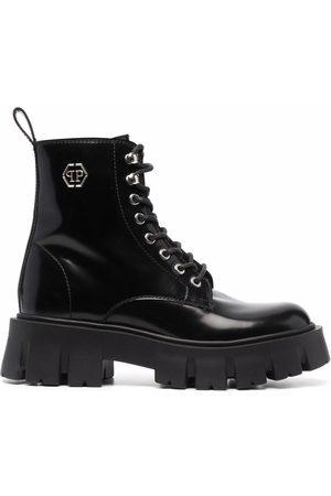Philipp Plein Iconic Plein ankle boots