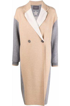 LORENA ANTONIAZZI Virgin wool-blend double-breasted coat
