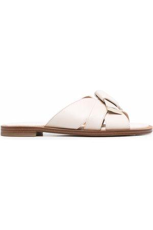 Michael Kors Knot-detail leather sandals