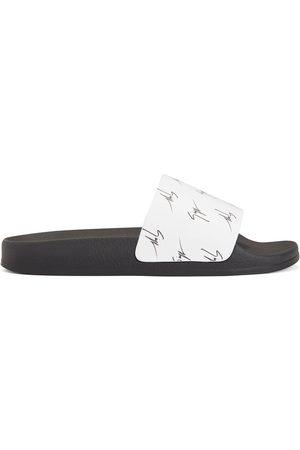 Giuseppe Zanotti Women Sandals - Brett signature-logo slides