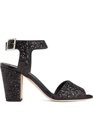 Giuseppe Zanotti Emmanuelle 80mm glitter sandals