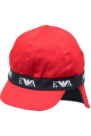 Emporio Armani Logo-tape classic sun hat