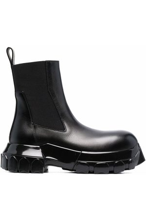 Rick Owens Ridged-sole ankle boots