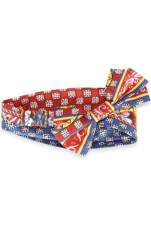 Dolce & Gabbana Kids Geometric-print headband