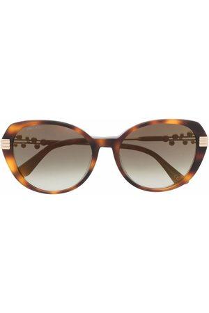 Jimmy Choo Orly round frame sunglasses