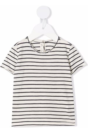 Zhoe & Tobiah Striped cotton T-shirt