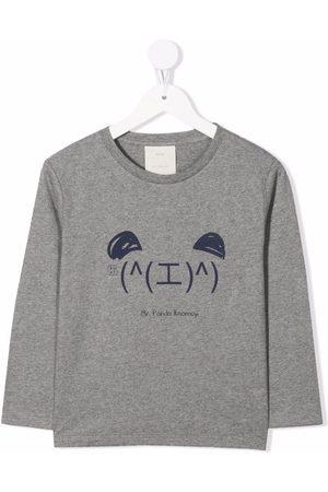 KNOT Kaomoji long-sleeved T-shirt