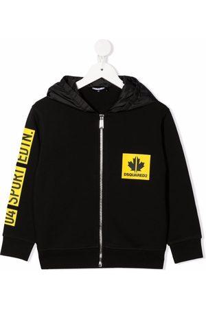 Dsquared2 Maple-leaf print jacket