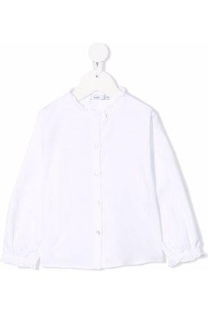 KNOT Girls Blouses - Makoto ruffle-collar blouse
