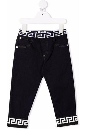 VERSACE Greca-band jeans