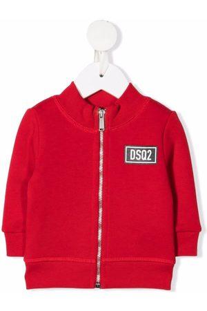 Dsquared2 Logo-patch bomber jacket