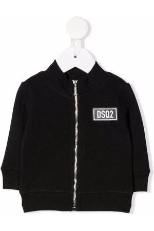 Dsquared2 Kids Logo-patch bomber jacket