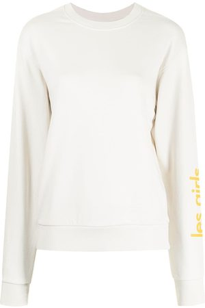 Les Girls Les Boys Fitted crew neck sweater