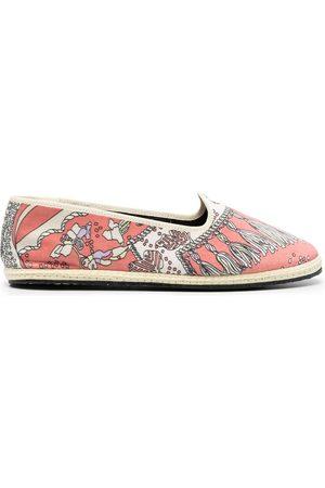 Emilio Pucci Friulana Rugiada print slippers