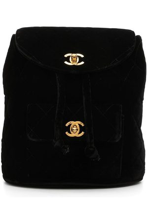 CHANEL Duma diamond-quilted backpack