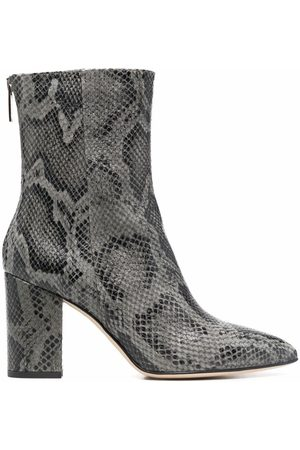 PARIS TEXAS Embossed 85mm ankle boots
