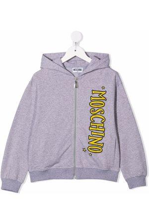Moschino Teddy bear-motif zipped hoodie