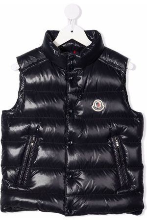 Moncler Padded high-shine down-feather gilet