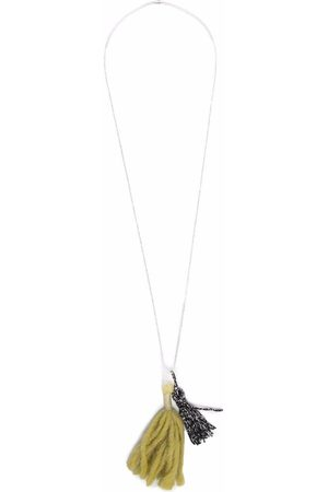Caffe' D'orzo Tassel-detail necklace