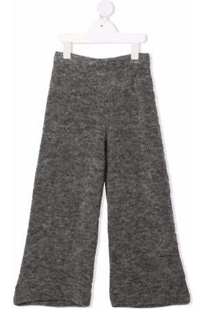 Caffe' D'orzo Knitted flared trousers