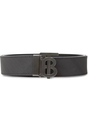 Burberry Monogram motif London check belt