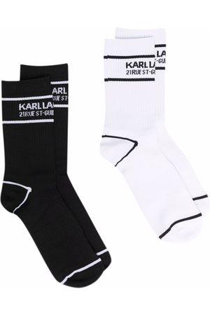 Karl Lagerfeld Women Underwear - Logo sports socks 2-pack